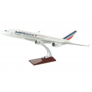 Модель пасажирський літак Airbus A380 Air France 43см