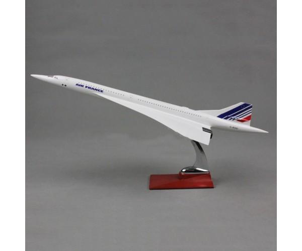Модель пасажирський літак Concorde Air France 43см