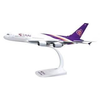 Модель пасажирський літак Airbus A380 THAI 20см