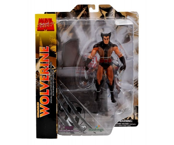 DIAMOND SELECT TOYS Unmasked Wolverine