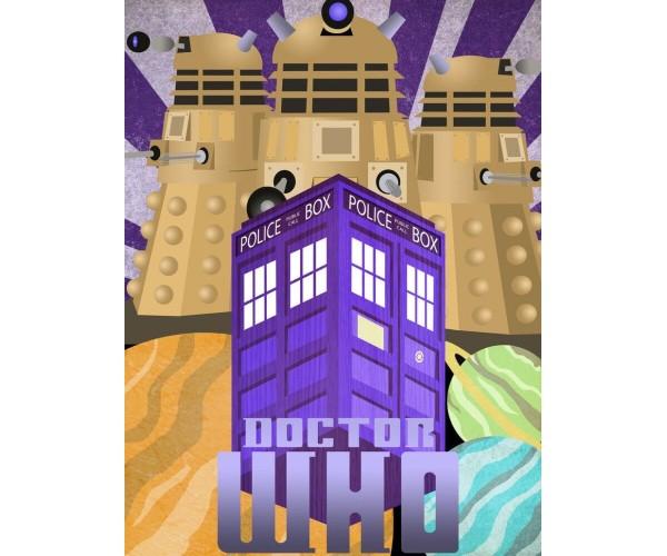 Листівка Доктор Хто  Doctor Who 01