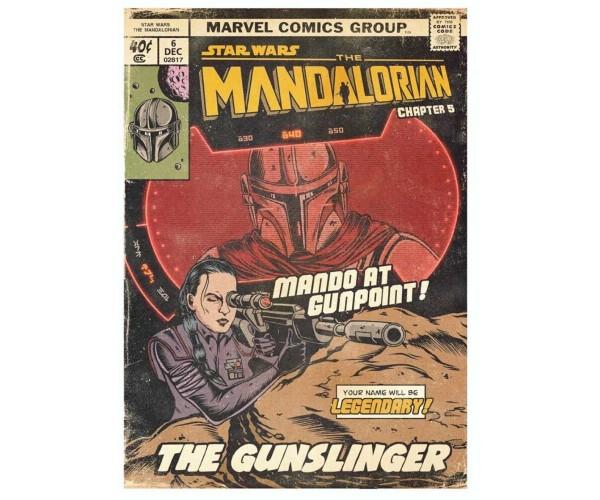 Листівка Мандалорець Mandalorian 01