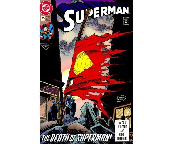 Листівка Superman Супермен 01