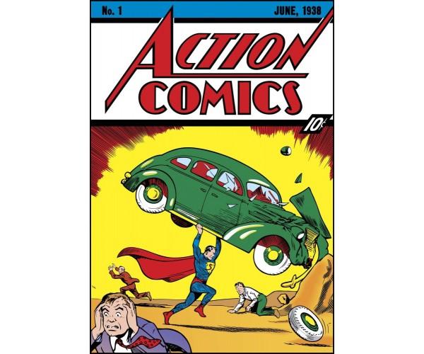 Листівка Action Comics #1 Супермен