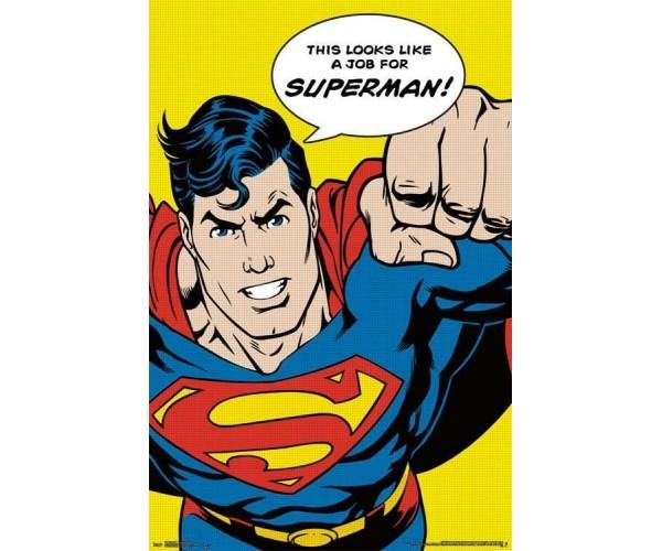 Листівка Superman Супермен 02