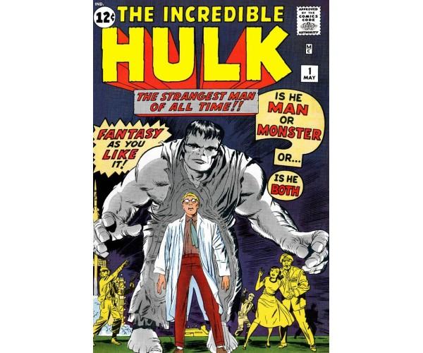 Листівка Hulk #1 Халк
