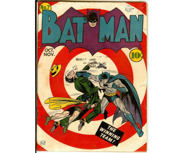 Листівка Batman #7
