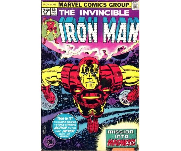 Листівка Iron Man #80