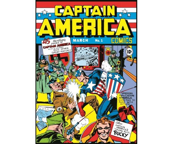 Постер Captain America