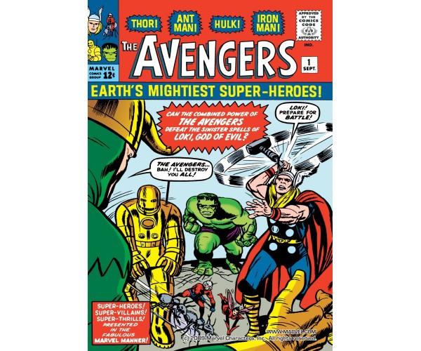 Постер Avengers
