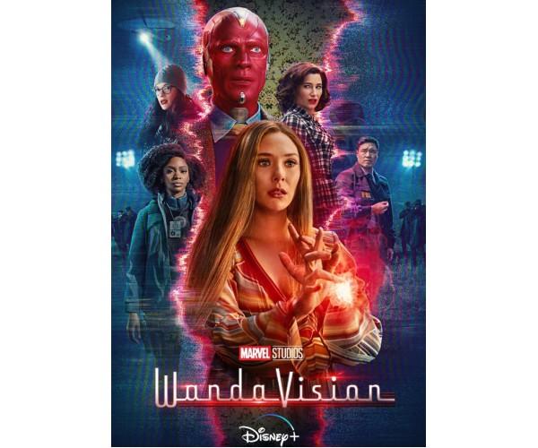 Постер WandaVision ВандаВіжн A3