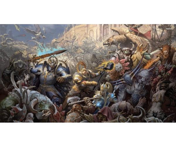 Постер Warhammer 40000 A3 02