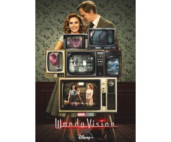 Постер WandaVision ВандаВіжн A3 01