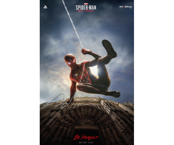 Постер Marvel's Spider-Man: Miles Morales 01