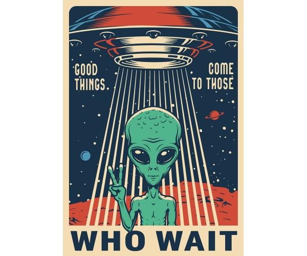 Постер Прибулець НЛО