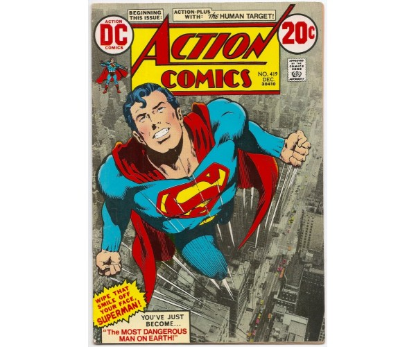 Постер Action Comics Superman #419