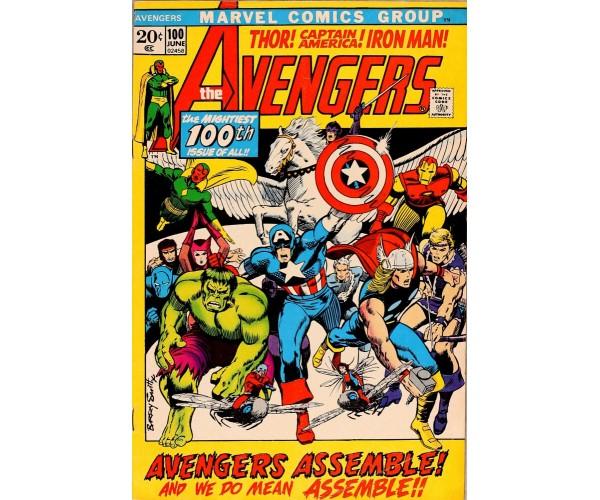 Постер Avengers #100