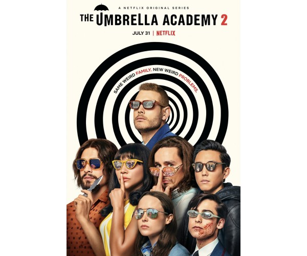 Постер Академія Амбрелла Umbrella Academy 02
