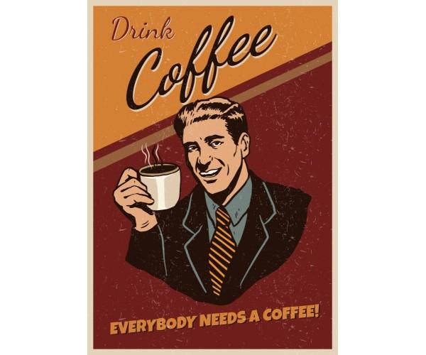 Постер Coffee