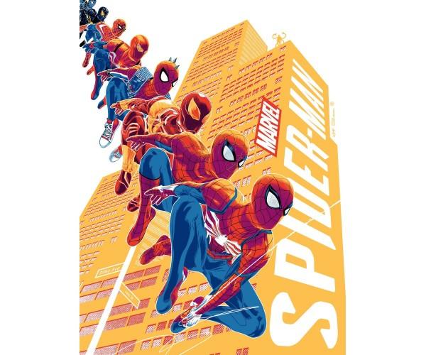 Постер Spider-Man PS4