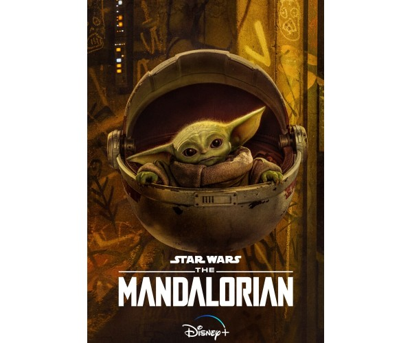 Постер Мандалорець Mandalorian Малюк Йода