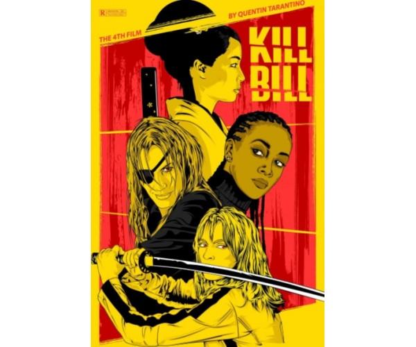 Постер Kill Bill 01 Quentin Tarantino Movies