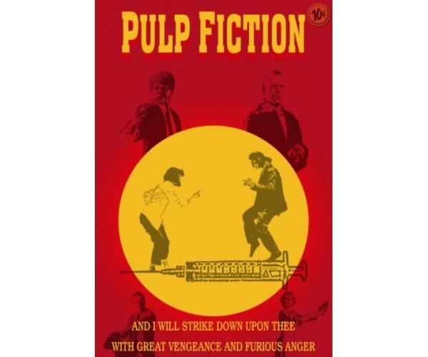 Постер Pulp Fiction\ Кримінальне чтиво Quentin Tarantino Movies