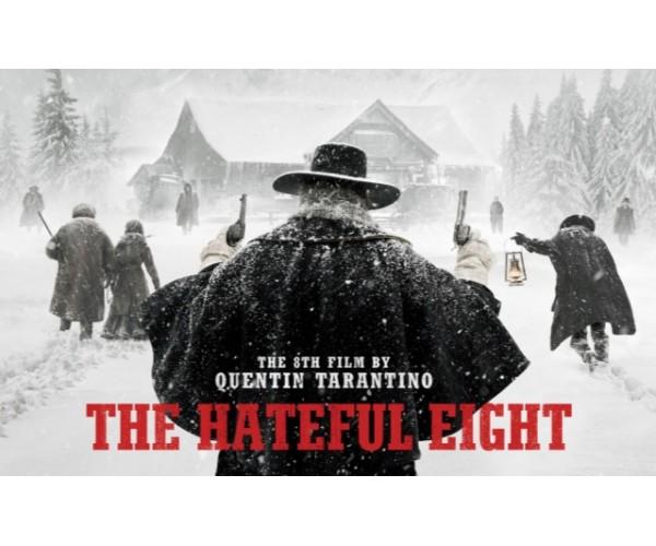 Постер The Hateful Eight Quentin Tarantino Movies