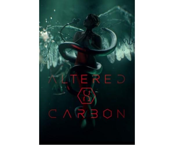 Постер Altered Carbon Зінакшений вуглець 02
