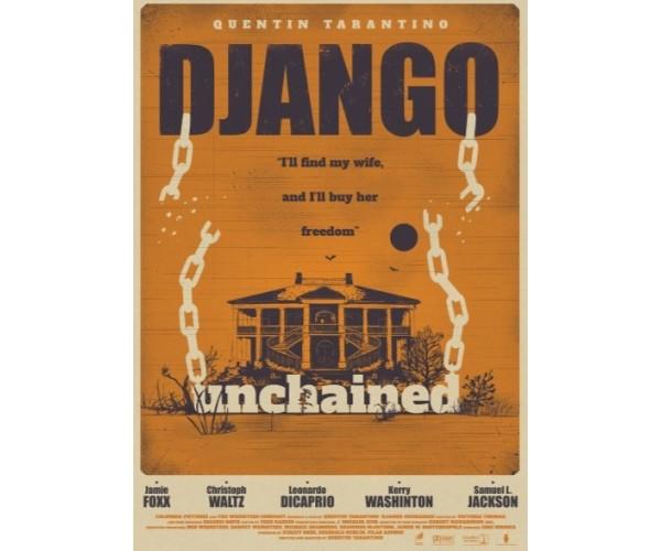 Постер Django Unchained Quentin Tarantino Movies 02