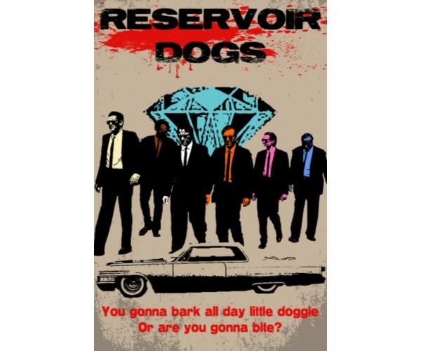 Постер Reservoir Dogs Quentin Tarantino Movies