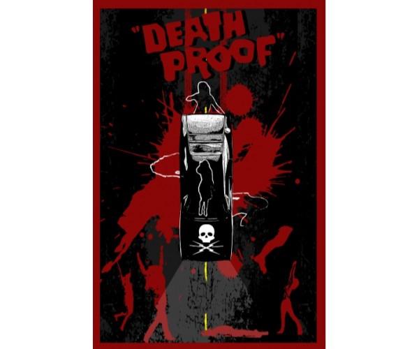 Постер Death Proof Quentin Tarantino Movies