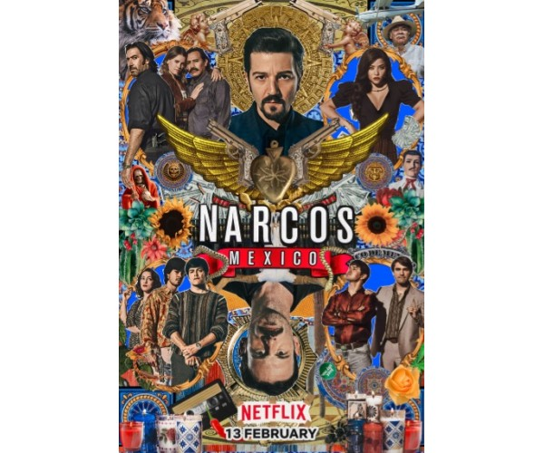Постер Narcos 02