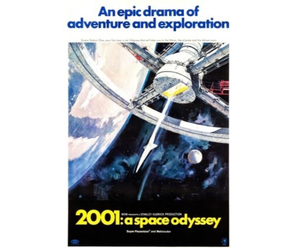 Постер 2001 Космічна Одіссея