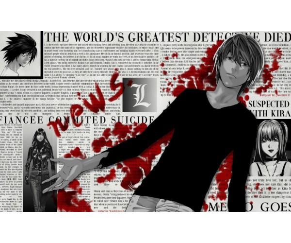 Постер Death Note 02
