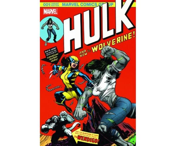 Постер Wolverine vs Hulk