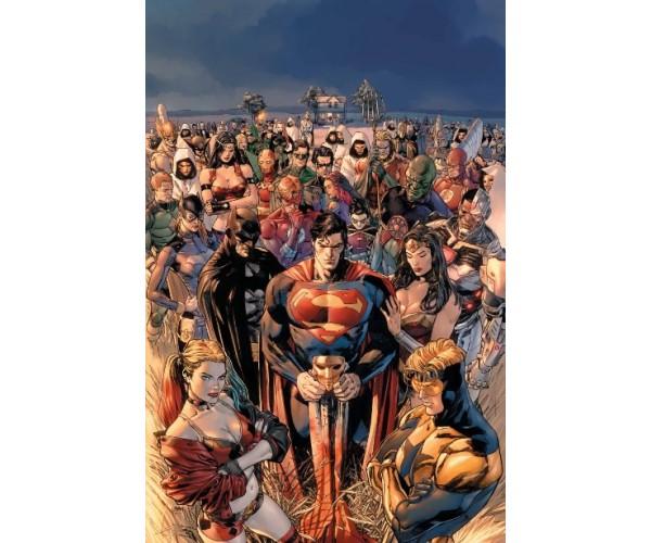 Постер Heroes in Crisis