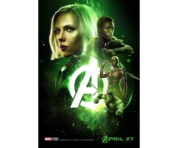 Постер Infinity War \ Time Stone