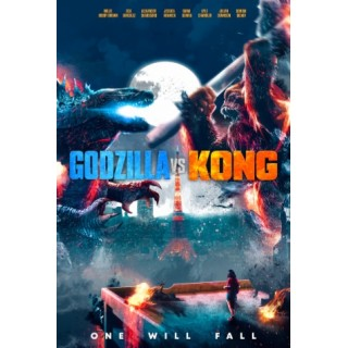 Постер Ґодзілла проти Конга Godzilla vs. Kong А3 06