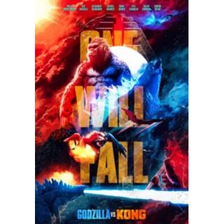 Постер Ґодзілла проти Конга Godzilla vs. Kong А3 07