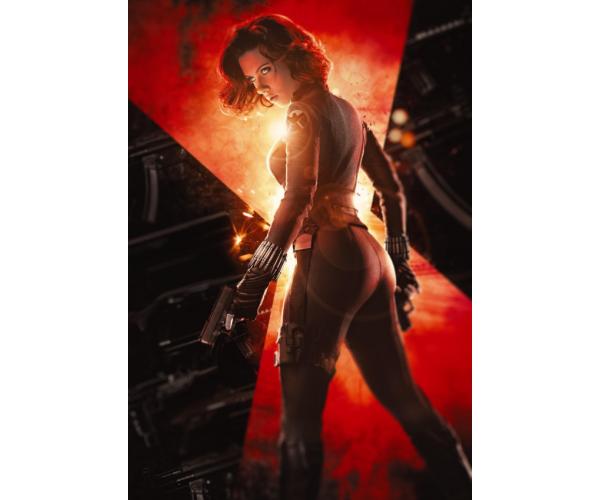 Постер Чорна Вдова Black Widow A3 03