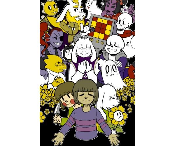 Постер Undertale 02