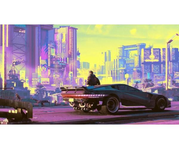 Постер Cyberpunk 2077 014