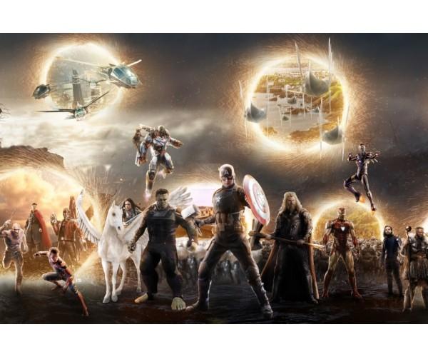 Постер Avengers Endgame 09