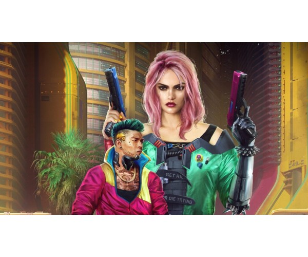 Постер Cyberpunk 2077 013