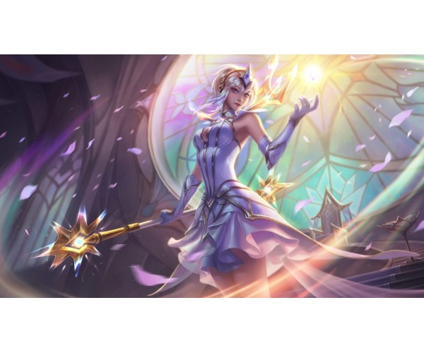 Постер League of Legends Magic Lux