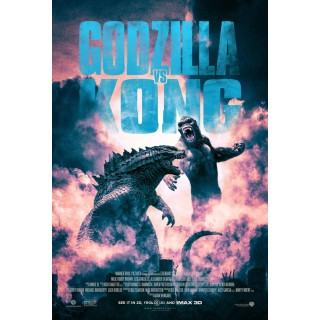 Постер Ґодзілла проти Конга Godzilla vs. Kong А3 05