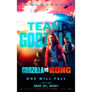 Постер Ґодзілла проти Конга Godzilla vs. Kong А3 01