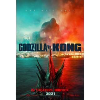 Постер Ґодзілла проти Конга Godzilla vs. Kong А3 04