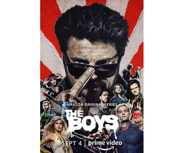 Постер Boys Хлопаки 2 сезон 01